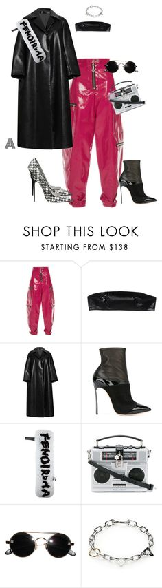 """Untitled #643"" by stylzbyang on Polyvore featuring E L L E R Y, Maison Margiela, Diane Von Furstenberg, Emilia Wickstead, Casadei, Fendi, Dolce&Gabbana and Alexander Wang"