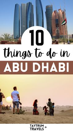 From museums to island day trips, learn more about what to see in this beautiful city in United Arab Emirates. Travel Articles, Travel Advice, Travel Guides, Travel Tips, Travel Destinations, Cool Places To Visit, Places To Go, The Soloist, Travel Aesthetic