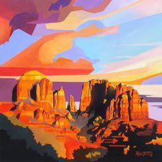 Sedona Sunset, Rafe Terry
