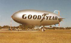 Goodyear Blimp in Miami 1978