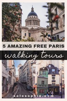 5 Free Paris Walking Tours You Won't Want to Miss. Here's your guide to the best walking tours of Paris (Ile de la Cite, Montmartre, Latin Quarter) Top cruises and tours Paris Travel Guide, Europe Travel Tips, European Travel, Places To Travel, Places To See, Travel Destinations, Dc Travel, Food Travel, Travel Deals