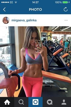 abs, girl, and exercise image