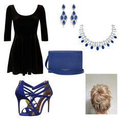 """Girls night out (read d)"" by linhoffmann ❤ liked on Polyvore"