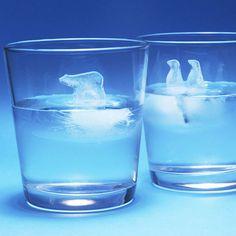Polar Bear + Penquins Ice Cube Molds