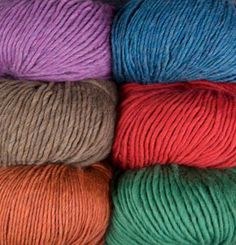 Full Circle Bulky Yarn - I love the single ply and I hear it's super soft - bulky or worsted!