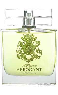 English Laundry 'Arrogant' Cologne.  Refined, classic and polished.