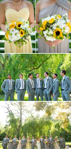 sunflower summer wedding ideas - Google Search