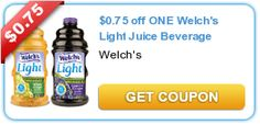 Save up to $3.00 off Welch's Juice + FREE 12 oz. Nalgene® Bottle when you buy three!
