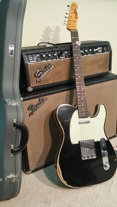 Fender Custom Shop 1962 Fender Telecaster Custom Heavy Relic & 1964 Fender Tremolux Amp