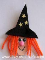 easy halloween crafts | Easy Halloween Crafts for Kids - Spooky Magnets