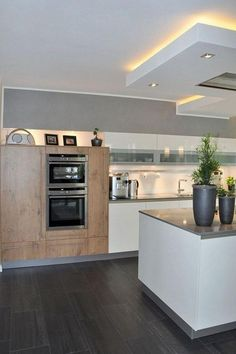 31 Modern Kitchen Everyone Should Try This Year kitchen cocinas cocinasmodernas kitchendecor Elegant Home Decor, Elegant Homes, Home Decor Trends, Home Decor Inspiration, Decor Ideas, Decorating Ideas, Kitchen Interior, Kitchen Decor, Nice Kitchen