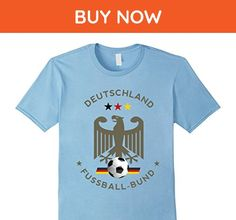 Mens German Football Team Jersey TShirt for Germany Soccer Fans  3XL Baby Blue - Sports shirts (*Amazon Partner-Link)