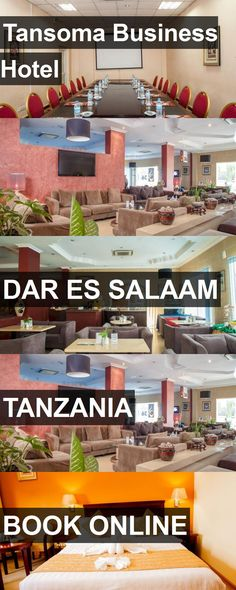 Tansoma Business Hotel in Dar Es Salaam, Tanzania. For more information, photos, reviews and best prices please follow the link. #Tanzania #DarEsSalaam #travel #vacation #hotel