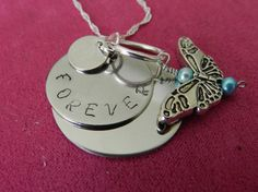 Personalize jewelry Beautiful stainless steel by LoveLsJewels, $35.00