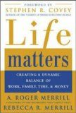 Life Matters: Creating a dynamic balance of work, family, time, & money - http://www.learngrowth.com/family/life-matters-creating-a-dynamic-balance-of-work-family-time-money/