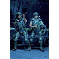 Aliens Actionfiguren Doppelpack 30th Anniversary Colonial Marines 18 cm