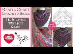 Learn to Read a Crochet Chart and Crochet a Shawl with Marly Bird - YouTube