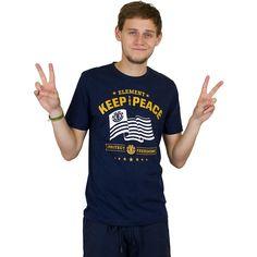 Element Keep the Peace T-Shirt indigo ★★★★★