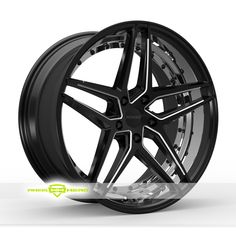 Rosso Reactiv Black Milled Wheels For Sale & Rosso Reactiv Rims And Tires
