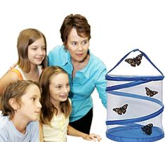 Live Butterfly Kits - for my 4 yr olds science unit this spring we are going to raise butterflies from caterpillars. We are also going to build them a habitat in our yard. Very educational.