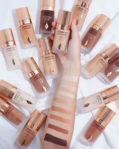10 Most Creative Makeup Ideas That Are Trending Airbrush Foundation, How To Match Foundation, Flawless Foundation, Matte Foundation, Perfect Foundation, Flawless Makeup, Beauty Makeup, Charlotte Tilbury Makeup, Lo Real
