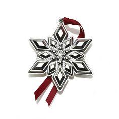 Gorham® 2013 Snowflake Ornament, 44th Edition