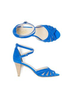 Stitch Fix Spring Shoes: Bright Strappy Heels