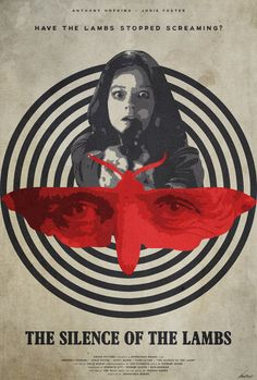 The Silence of the Lambs - movie poster - Edward Julian Moran II