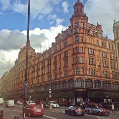 Harrods Department Store, London, UK