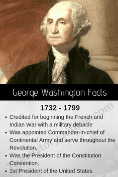 Share FUN FACTS about President George Washington with the senior residents of your nursing home on Presidents Day