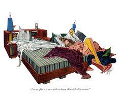 John Ruge Toddler Bed, Cartoon, Comics, Retro, Artist, Painting, Furniture, Home Decor, Good Mood