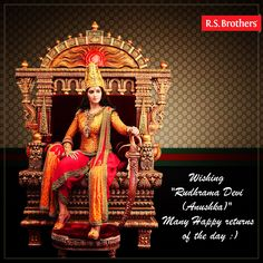 R.S.Brothers wishing a very #HappyBirthday to #Anushka Shetty :)  (Image copyrights belong to their respective owners)