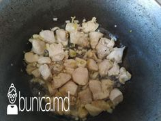 bunica.md — Cartofi cu piept de pui, ciuperci și smîntînă Chicken, Meat, Food, Essen, Meals, Yemek, Eten, Cubs