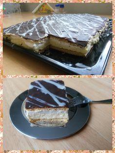 Medový krémeš :) Pudding, Pie, Desserts, Food, Torte, Tailgate Desserts, Cake, Deserts, Custard Pudding