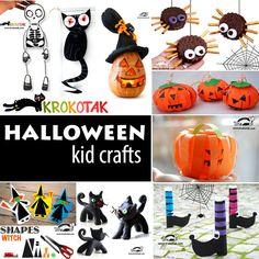 HALLOWEEN - kids crafts