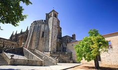 Day trips from Lisbon, Portugal: readers' travel tips - via The Guardian 04.05.2014 | Sintra, Cascais and Portinho all offer tempting holiday excursions that are a short drive or train ride from Lisbon | Photo: Convento de Cristo, Tomar, Portugal. Photograph: Alamy