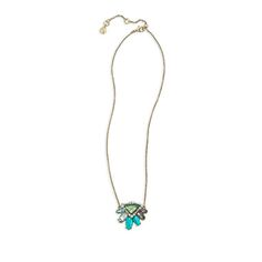 Bora Bora Short Pendant Necklace.  Get it at: https://www.chloeandisabel.com/boutique/cassandra