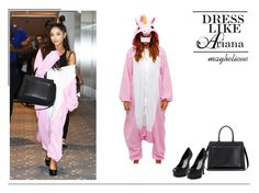 Ariana Grande #27 by maybelieve on Polyvore featuring moda, Yves Saint Laurent, Victoria Beckham and Kigu