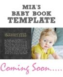 baby book ideas - What to write about each month