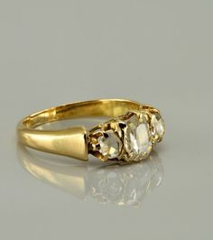 Victorian diamond ring, circa 1880