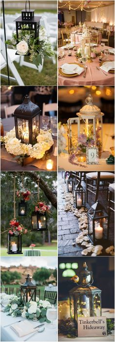 20 Rustic Lantern Wedding Decoration Ideas to Light up Your Day - Bal de Promo Lantern Centerpieces, Rustic Wedding Centerpieces, Bridal Shower Decorations, Wedding Reception Decorations, Wedding Ideas, Trendy Wedding, Wedding Notes, Minimal Wedding, Star Wedding
