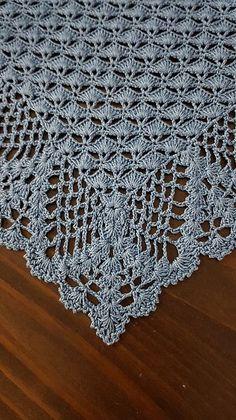 Ravelry: Royale Shawl pattern by Periwinkle Crochet # crochet shawl diagram Royale Shawl Crochet Cushion Pattern, Crochet Shawl Diagram, Crochet Potholder Patterns, Crochet Poncho, Crochet Scarves, Crochet Clothes, Crochet Lace, Crochet Stitches, Knitting Patterns