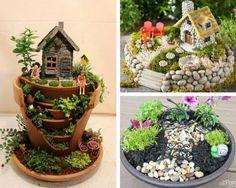 Elegant 12 Süßeste DIY Fee Garten Ideen Und Kits | Easy Kids Basteln Für Alle  Jahreszeiten