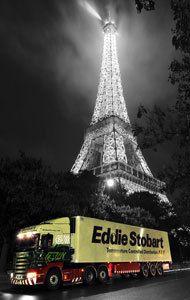 Eddie in Paris Eddie Stobart Trucks, Big Trucks, Road Train, Fan Picture, Big Wheel, Transportation, Paris, Classic, Building