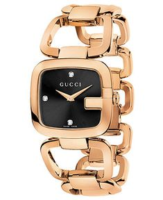Spring 13 Trend: Black & Gold GUCCI #watch BUY NOW!