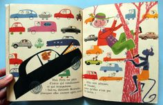 My Vintage Avenue !!! 50's and 60's illustrations !!!: Binioulec by Robert Le Pajolec, part 2 ! :)