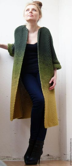 Knitted cardigan for women 2