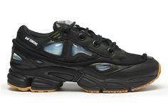 adidas x Raf Simons Ozweego Bunny Black Sneakers