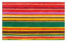"""Multi-stripe 17""""x29"""" Coir with Vinyl Backing by Momentum Mats. $19.99. 100% Natural Coir with Vinyl Backing for Long-Lasting Wear and Durability. Fade Resistant, Color Fast and Weather Tolerant. Traps Dirt and Moisture. In Stock - Ships in 1-2 days. Makes a Great Gift - Free Gift Enclosure. Momentum Mats has been a trusted manufacturer for 28 years and we take great pride in the fact that we use only 100% natural coir and vinyl in our doormats.  Our manufacturing fa..."""