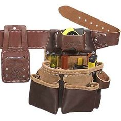 """""""I think a good, leather tool belt will serve my DIYer well now since he keeps swearing and whatnot every time he puts on his old one."""" –Cheryl C."""